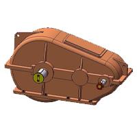 Редуктора РМ-250, РМ-350, РМ-400, РМ-500, РМ-650, РМ-750, РМ-850, РМ-1000 цилиндрические горизонтальные двухступенчатые